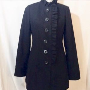 Beautiful wool blend coat by Tulle.